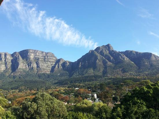 Southern Sun Newlands: Spectacular Table Mountain view from the room