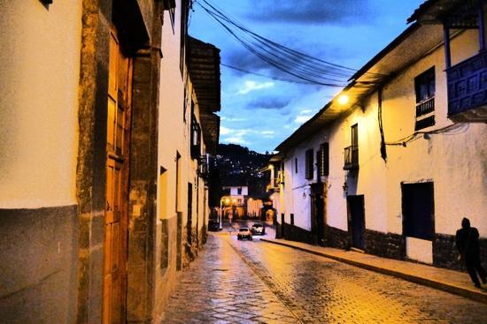 BEST WESTERN Los Andes De America: ホテルの通り