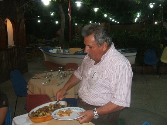 Hotel La Vela: Paccheri da brivido!!! 