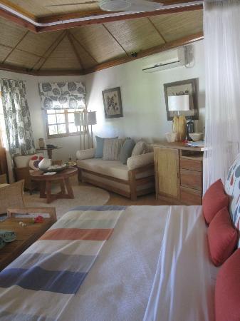 Denis Private Island Seychelles: chambre
