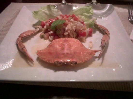 Divino Restaurant, Wine & Bar : Crab salad