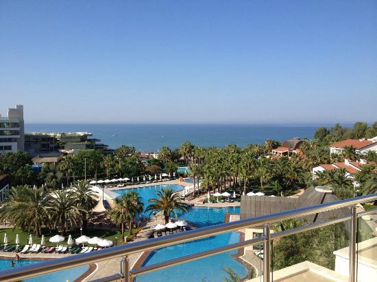 Barut Arum : Utsikt fra balkong.
