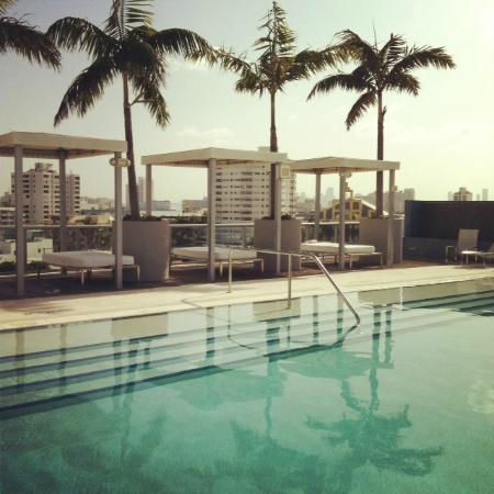 Boulan South Beach: Roof top pool