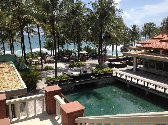 Trisara Phuket: View to the beach