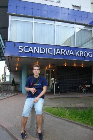 Scandic Jarva Krog: Puerta de Entrada