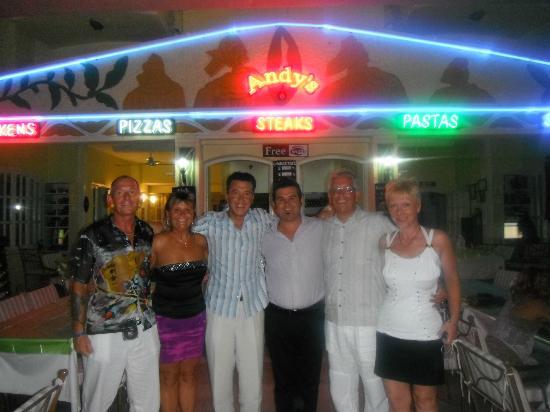 Andy's Restaurant & Bar: fantastic night at Andys