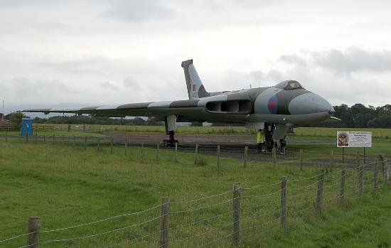 Carlisle, UK: Avro Vulcan B.2 XJ823