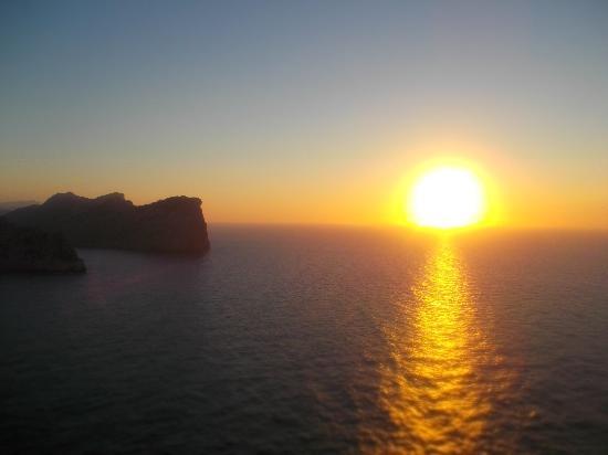 Formentor, Espagne : sun