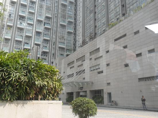 Ascott Guangzhou : Vue de l'extérieur
