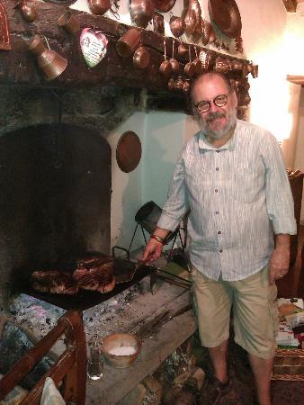Agriturismo Castello della Paneretta: MAssimo e la Fiorentina