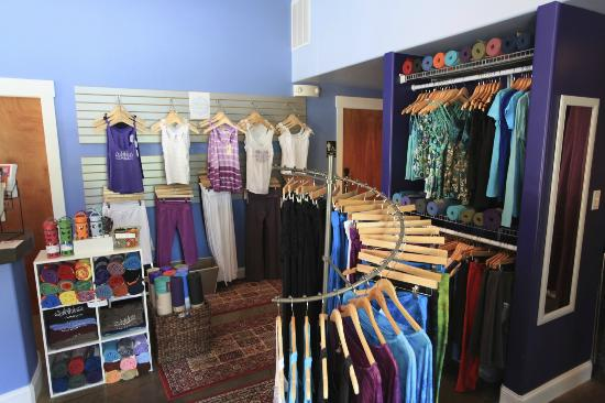 Asheville Yoga Center : Full selection of many of the top yoga clothing brands