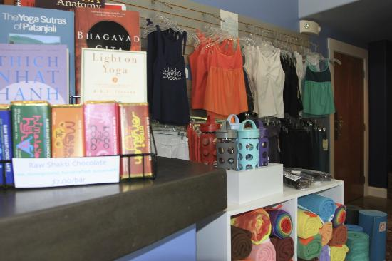 Asheville Yoga Center : Lots of yoga resources and gear.
