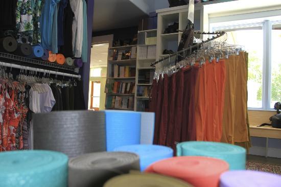 Asheville Yoga Center : full retail section