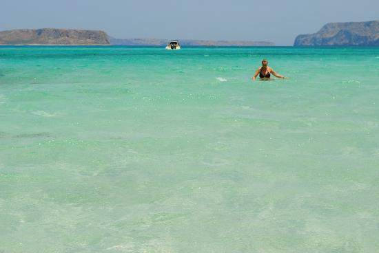 Balos Beach and Lagoon: el borde de la laguna que se convierte en una delicosa playa