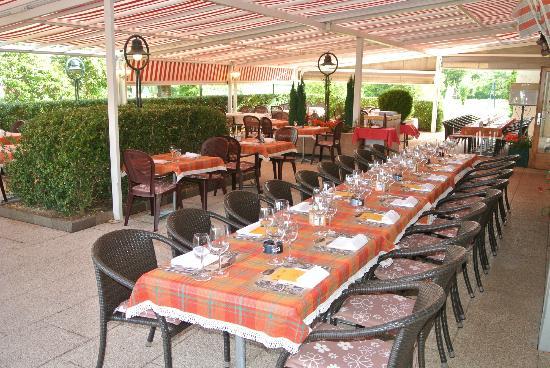 Auberge de la Reunion : Terrasse Brasserie