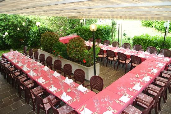 Auberge de la Reunion : Terrasse Restaurant