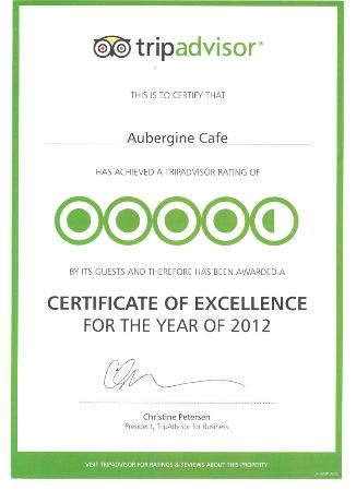 Aubergine Cafe: Thank you to all of our wonderful customers for your support :o)