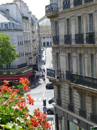 Left Bank Saint Germain : view from room 302