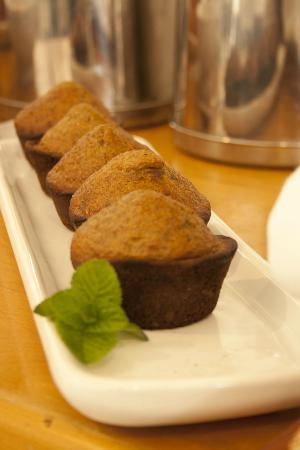 Nothando Backpackers Lodge: Freshly baked muffins served every day for breakfast