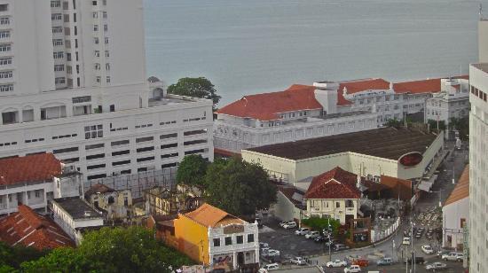 Cititel Penang: View of E&O Hotel.