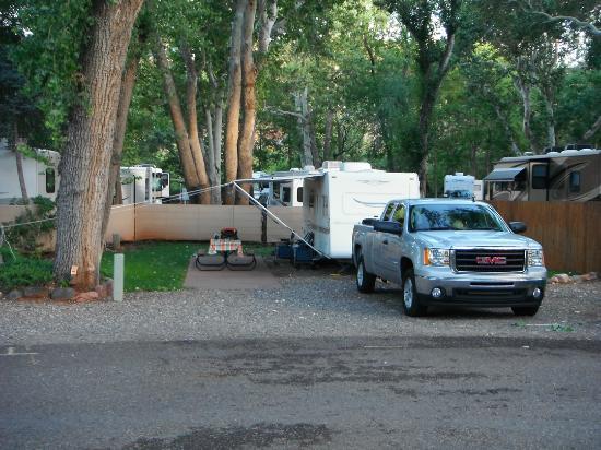 Rancho Sedona RV Park: Site 64