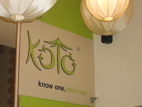 Koto Restaurant Hanoi Menu