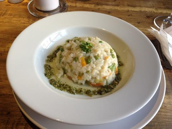 The Inn at Torbrex: vegetarian risotto