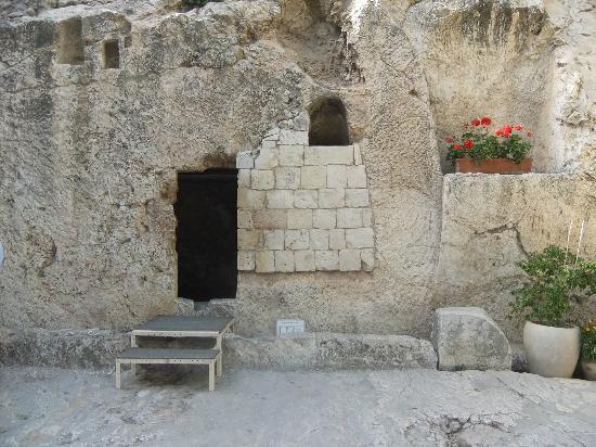 Gartengrab: entrada do sepulcro de Jesus