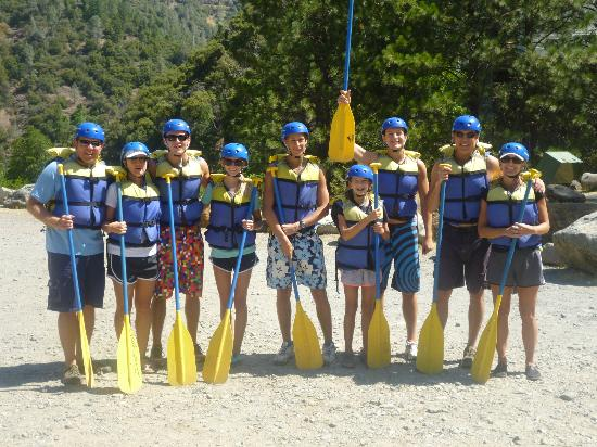 Tahoe Whitewater Tours: The Gang !!