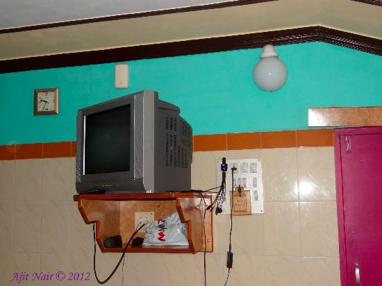 Hotel Gangasagar : TV in the room