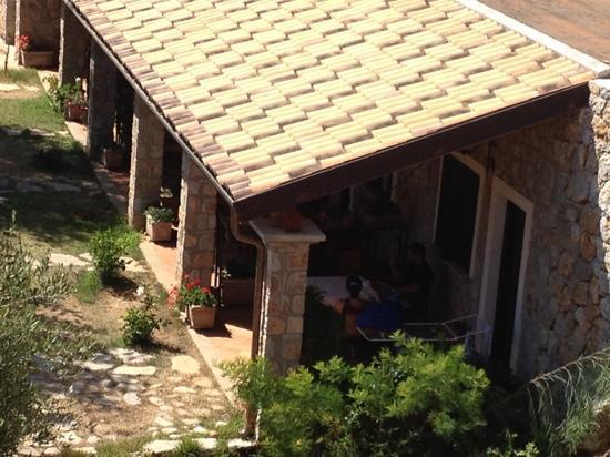 Hotel Relais du Silence Pian Delle Starze : camere al piano rialzato viste dall'alto