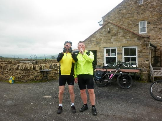 Parkhead Station House: Phil and Andy 100 miles to here