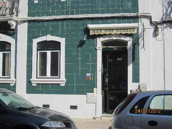 Residencia Mar dos Acores : The entrance