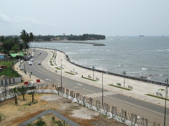 Bata, Equatorial Guinea: Vue Mer
