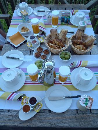Hotel des Dunes : un petit-déjeuner bien sympathique...