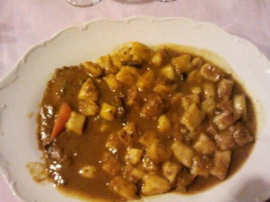 Konoba Maslina : piatto tipico