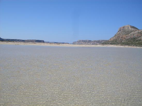 Balos Lagoon: Acqua cristallina