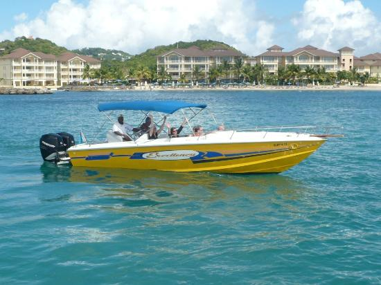 Exodus Boat Charters: We have three 31ft Speed Boats