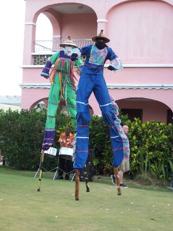 The Buccaneer -- St Croix: Moko Jumbies(Welcome Recption)