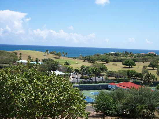 The Buccaneer St Croix: View when walking