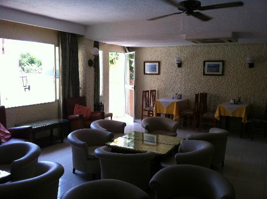 Hotel Boutique El Tiburón: lounge