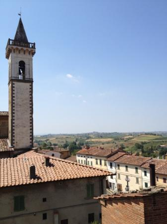 Agriturismo Le Baccane: from bell tower