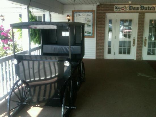Entrance to the Dutch Haus Restaurant