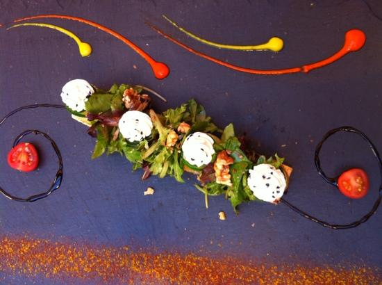 La Bonne Fourchette: courgettes gevuld met vis