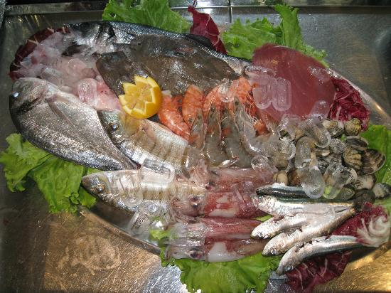 Ristorante Pizzeria 161 : Pesce fresco!!!!!!!