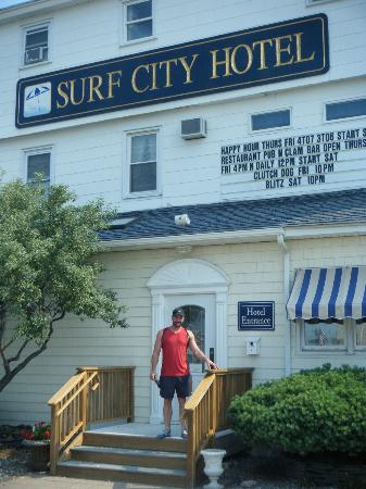 Surf City Hotel: Great Location!