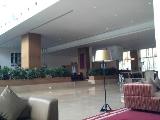 Radisson Blu Plaza Hotel Hyderabad Banjara Hills: Lobby area