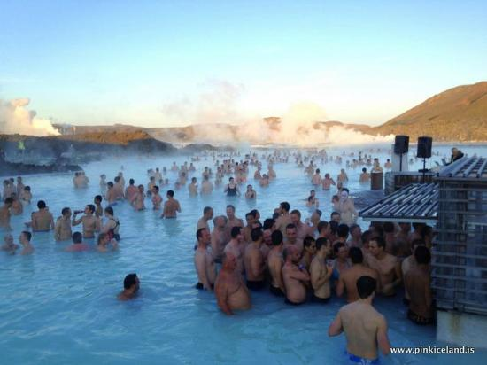 blue lagoon party time picture of pink iceland day tours