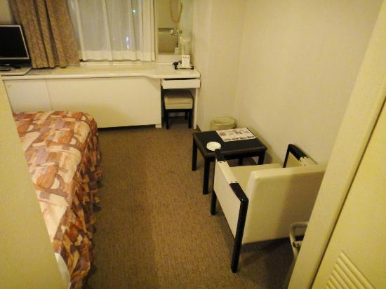 Hotel Plaza Osaka: スコシツカイニクイ