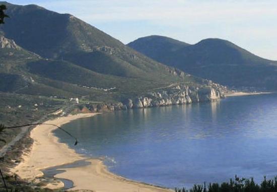 Fluminimaggiore, Italy: spiaggia portixeddu